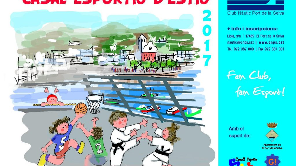 Casal Esportiu Club Nàutic Port de la Selva 2017