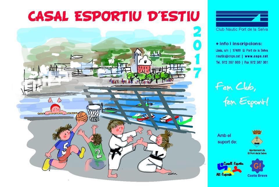 Casal esportiu d'estiu 2017