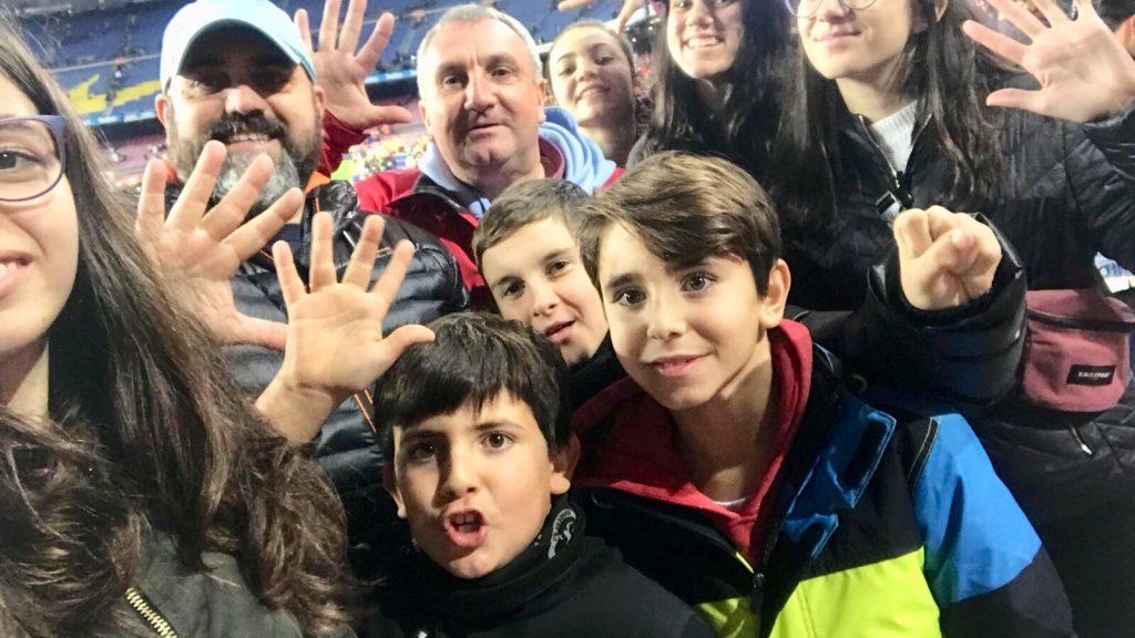 Foto al Camp Nou