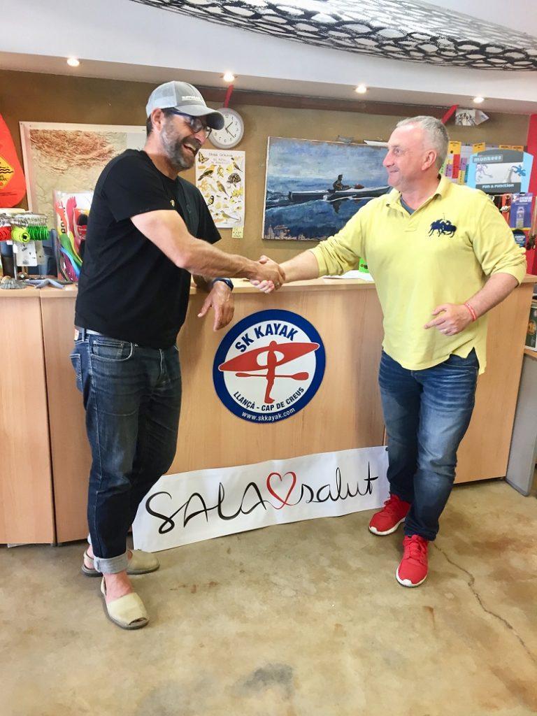 Conveni entre SK Kayak i SALAsalut