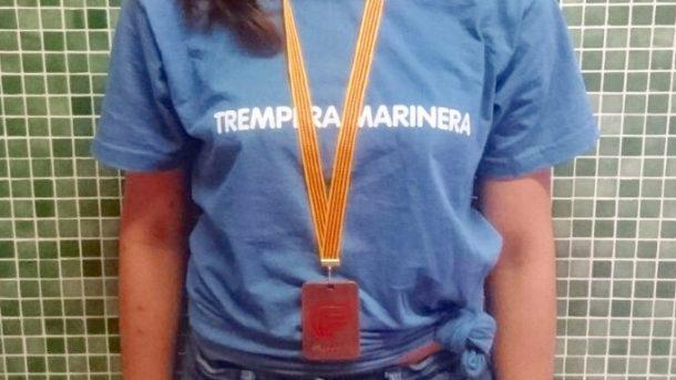 Júlia Ruiz, bronze Final Nacional Natació Escolar 2018