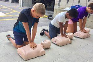 Pràctiques amb Voluntaris de Protecció Civil