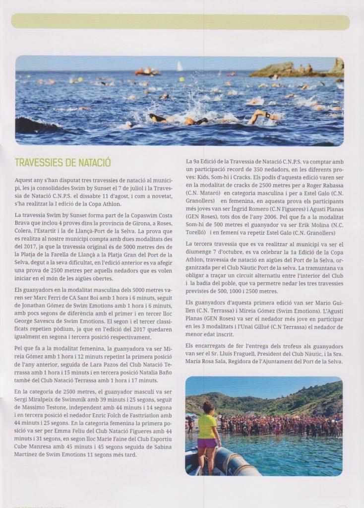 Butlletí Port de la Selva 2018