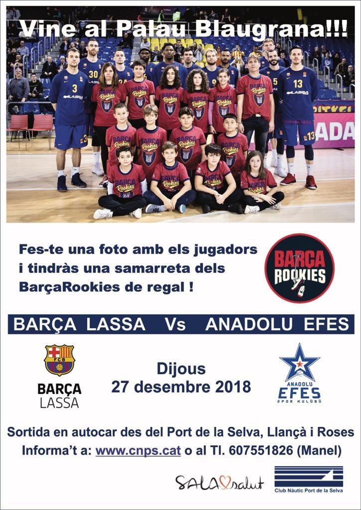 Escapad al Palau Blaugrana desembre 2018