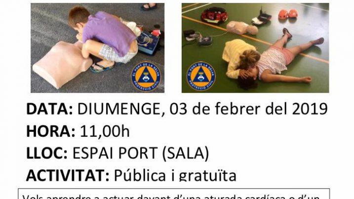 Jornada Protecció Civil Port de la Selva febrer 2019