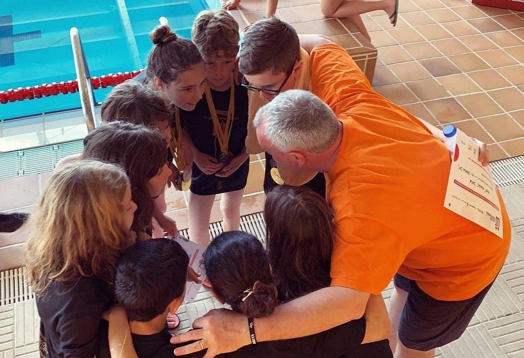 Balanç lliga territorial escolar natació 2019