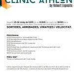 Cartell del Clínic Athlon 2019 a Sabadell