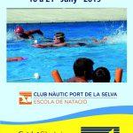 Curs intensiu de natació al CNPS, juny 2019