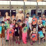 Foto final curs de natació CNPS a Roses