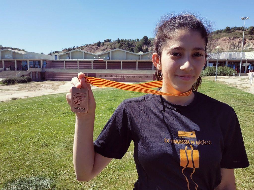 Medalla de bronze Júlia Ruiz a les Finals Nacionals de natació 2019