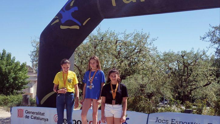 Podi Júlia Ruiz a les Finals Nacionals de natació 2019