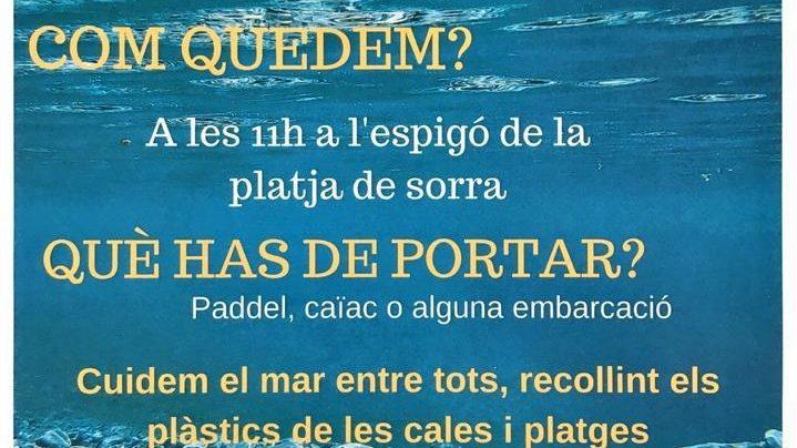 Stop als plàstics al Port de la Selva
