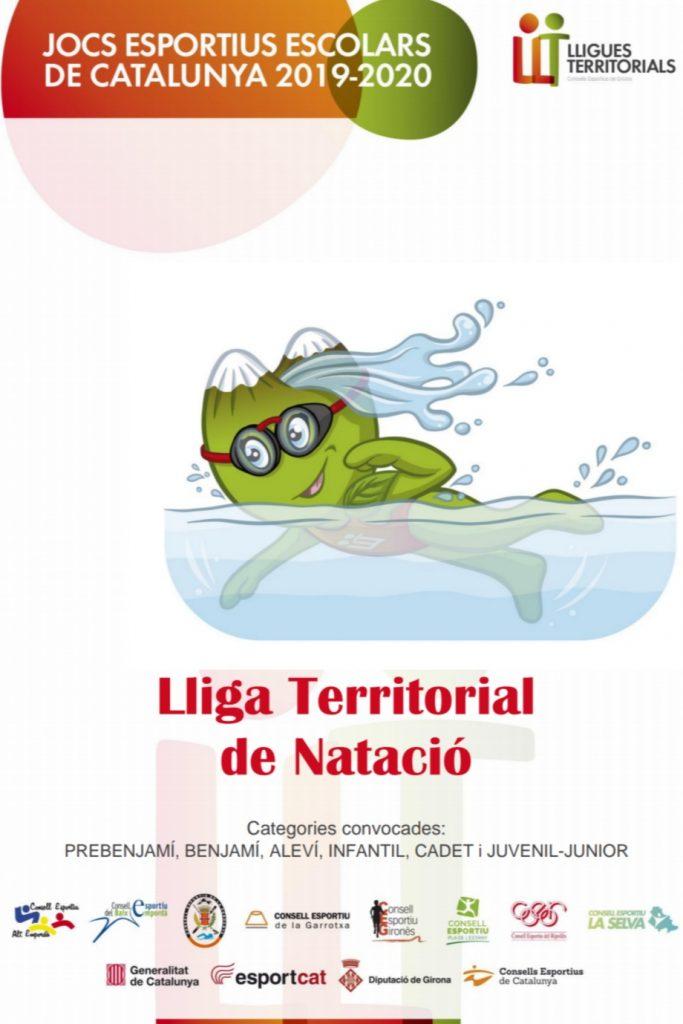 Lliga Territorial Natació 2019/2020