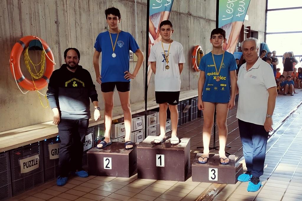Fase Comarcal de natació 2020 a Palafrugell