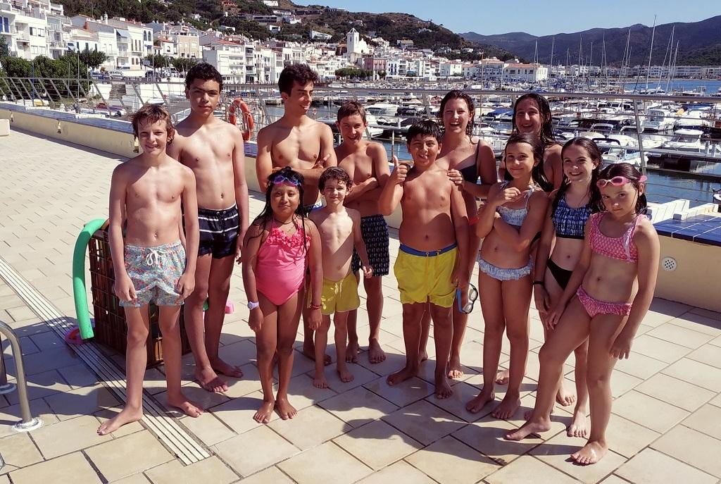 Curs intensiu de natació 2020 al CNPS