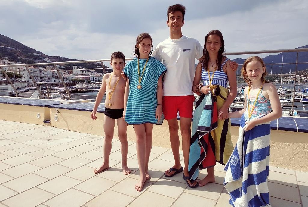 Gerard Roura escola de natació CNPS
