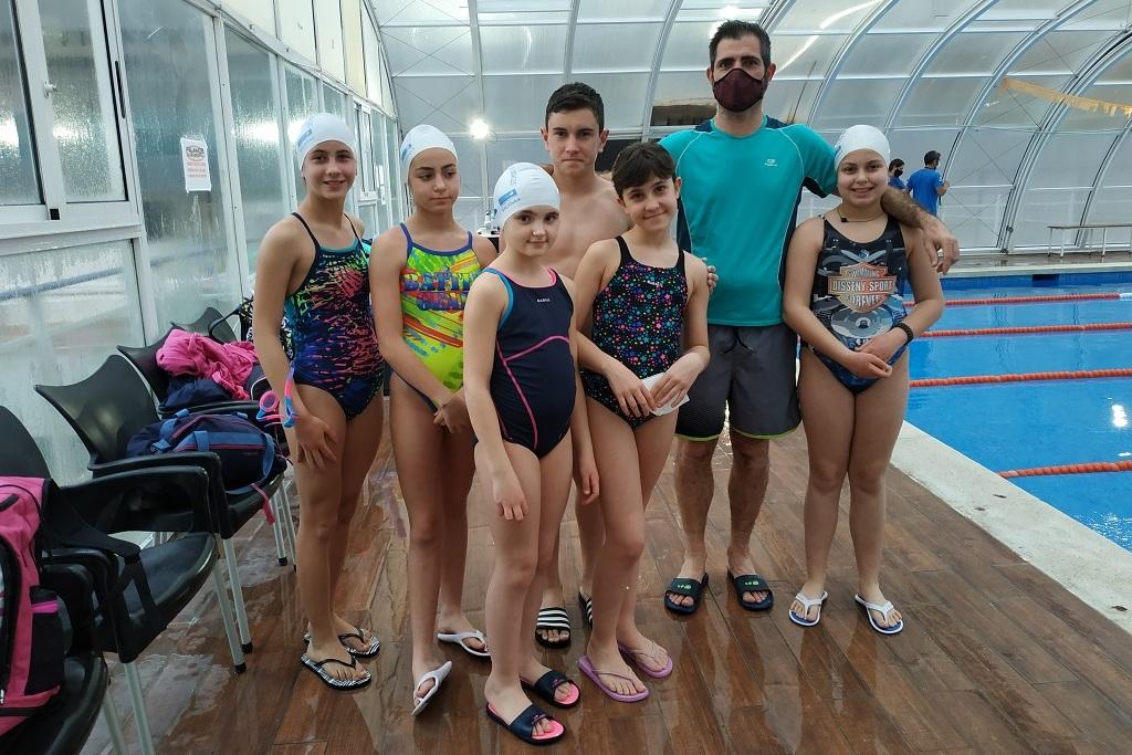 Jornada natació a Palamós