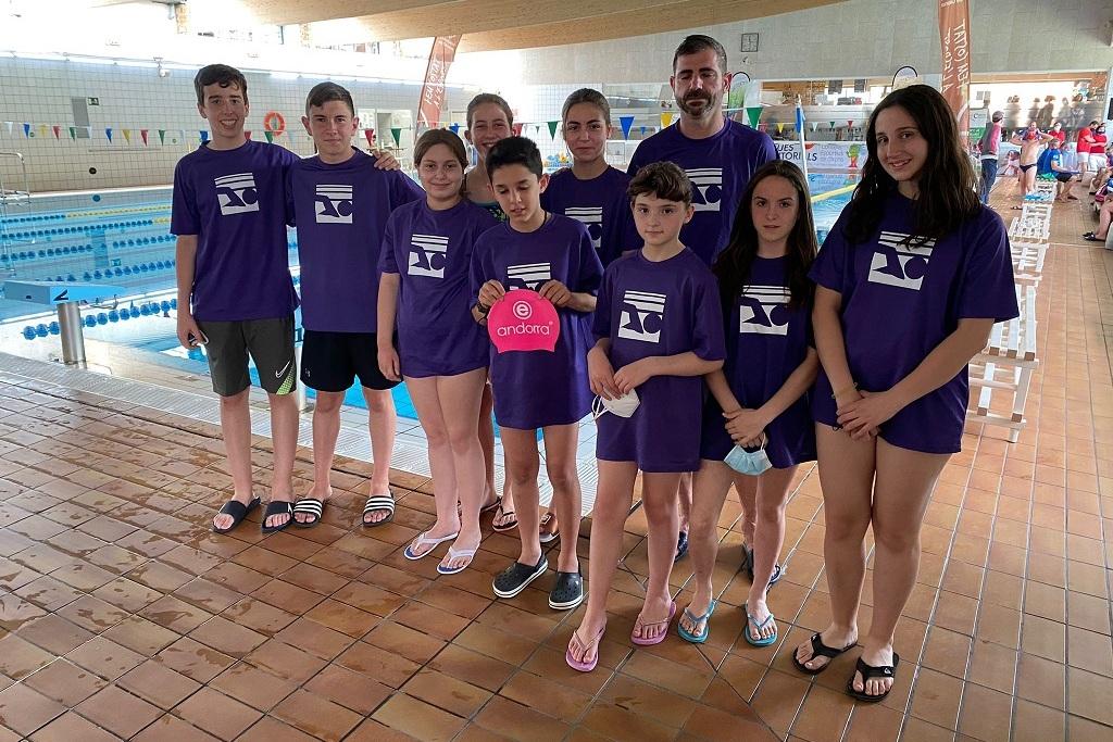 Segona jornada lliga territorial natació Club Nàutic