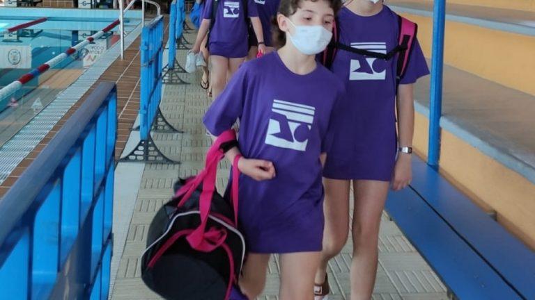 Primera jornada lliga territorial natació Club Nàutic