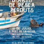 Recollida arts de pesca 10 juliol Port de la Selva